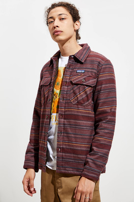 Patagonia Insulated Fjord Flannel Button-Down Shirt