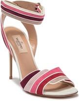 Valentino Stiletto Heel Suede Sandal