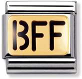 Nomination 18ct Gold and Enamel BFF Classic Charm 030232/01