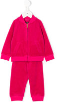 Juicy Couture velvet effect tracksuit set