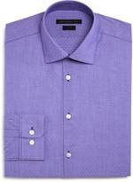 John Varvatos Thin Stripe Dobby Slim Fit Dress Shirt