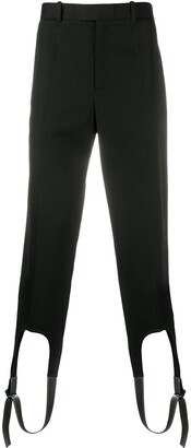 Loewe Leather Strap Trousers