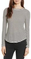 Rebecca Taylor Women's Long Sleeve Stripe Tee
