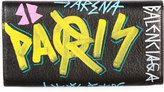Balenciaga Classic Money Wallet with Graffiti Design