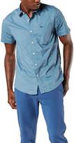Dockers Mens Short Sleeve Button-Front Shirt