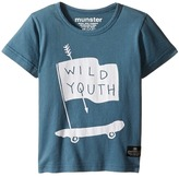 Munster Wild Wheels Tee Boy's T Shirt