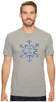 Life is Good Anchor Circle Crusher Tee Men's Short Sleeve Pullover