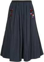Muveil sequin embellished full skirt