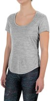 Layer 8 Scoop Neck Shirt - Short Sleeve (For Women)