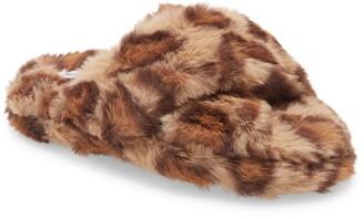 Treasure & Bond Kids' Faux Fur Slipper