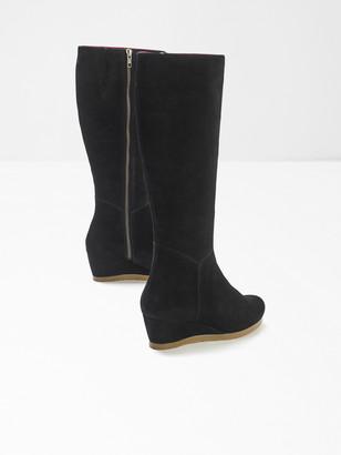 White Stuff Issy Wedge High Leg Boot