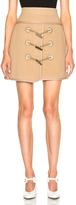 Carven Toggle Mini Skirt