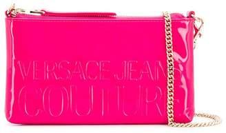 Versace embossed logo crossbody bag