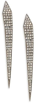 Nina Gilin Diamond Dagger Earrings