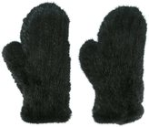 Yves Salomon mink fur mittens - women - Mink Fur - One Size