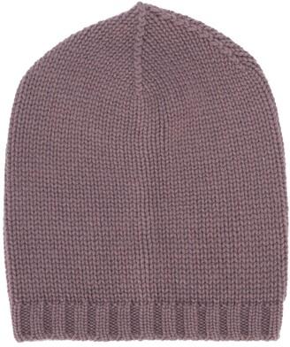 Lamberto Losani Ribbed Knit Beanie