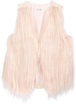 Jessica Simpson Faux-Fur Front Vest, Big Girls (7-16)