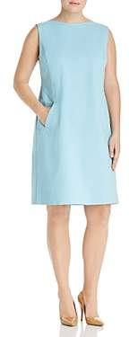 Lafayette 148 New York Plus Ensley Sleeveless Shift Dress