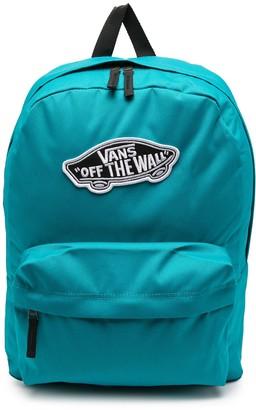 Vans Logo Patch Backpack