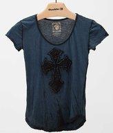 Velvet Stone Lace Cross T-Shirt