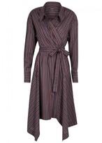 Isabel Marant Mila Striped Poplin Shirt Dress
