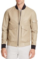Theory Corby Lamb Leather Jacket