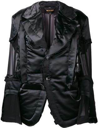 Comme des Garcons Sheer Detailed Jacket