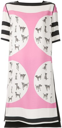 Gloria Coelho printed T-shirt dress