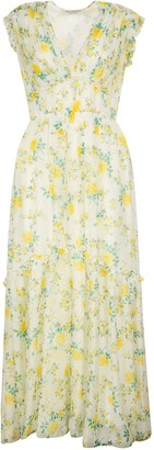 Philosophy di Lorenzo Serafini Floral Sleeveless Long Dress