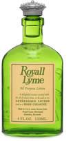Royall Fragrances Royall Lyme All Purpose Lotion/Cologne by 4oz Splash)