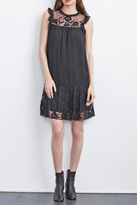 Velvet Marsha Embroidered Dress