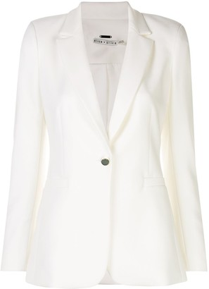 Alice + Olivia Bristol fitted blazer