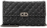 Valentino Garavani Rockstud Spike Leather Clutch