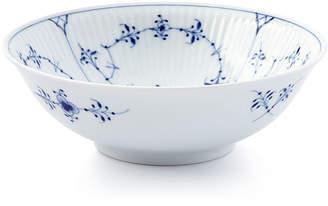 Royal Copenhagen Blue Fluted Plain Cereal Bowl