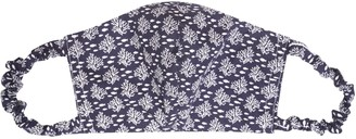 Cocoove Face Mask Non Medical 100% Cotton In Navy Print