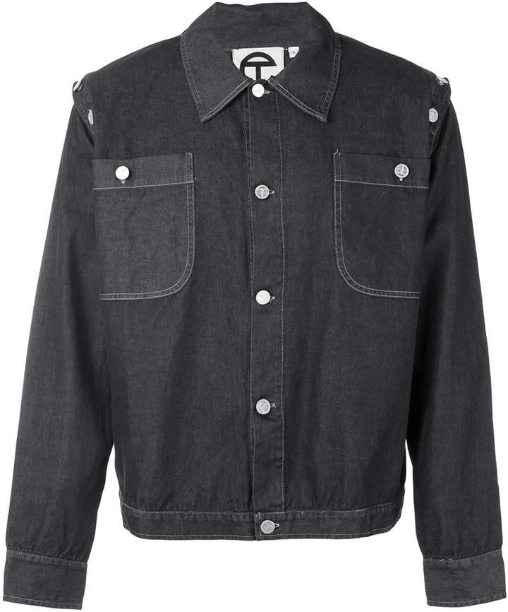 Telfar denim jacket