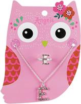 Accessorize Ellen Owl E Jewellery Set
