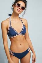 Becca Medina Crochet-Trimmed Bikini Bikini Bikini Bottom