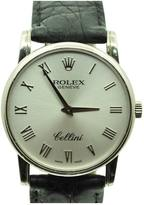 Rolex Cellini white gold watch