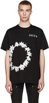 Givenchy Black Circle Of Flower T-Shirt