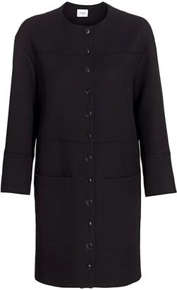 Akris Punto Oversized Wool Coat