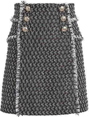 Intermix Martina Tweed Mini Skirt