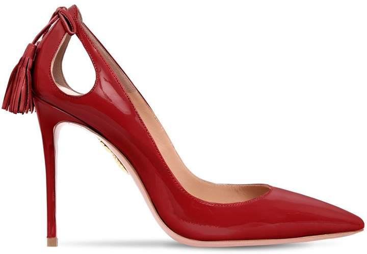 Aquazzura 105mm Forever Marilyn Patent Pumps