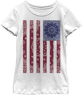 Fifth Sun White Bandanna Flag Tee - Toddler & Girls