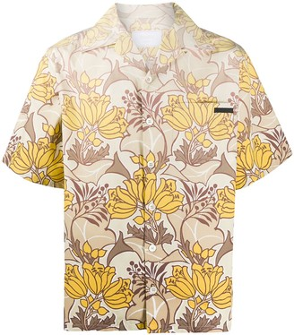 Prada Hawaiian shirt