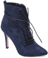 Navy Pointed Kendra Bootie