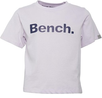 Bench Junior Girls Cropped Tee Katrin Lilac