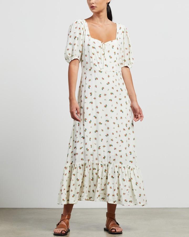 Faithfull The Brand Women's Multi Midi Dresses - Gabriela Midi Dress - Size XS at The Iconic