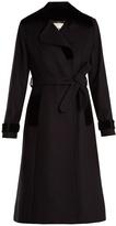 Goat Escher tie-waist wool-blend coat