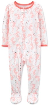 Carter's Baby Girls 1-Pc. Flamingo Footie Pajama